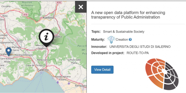 A new open data platfrom for enhancing transparency of Public Administration