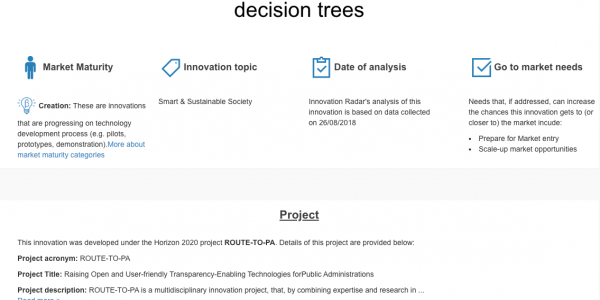 An open source and browser-based sofware for creating and analysing decision trees